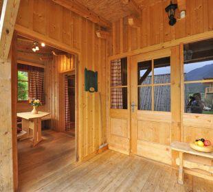 Mehrbettzimmer für 2 bis 5 Personen feel free Adventure Camp