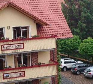 Blick aus dem Dachgeschoß Apart Hotel Wernigerode