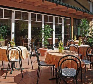 Gastgarten im Innenhof Gasthaus Kramerwirt