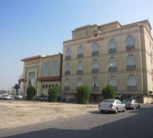 Schlechte Aussicht, dafür absolut ruhig Ramada Hotel & Suites Al Khobar