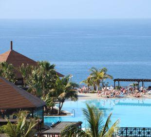 Blick von oben auf den die Pools La Palma Princess