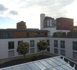 Blick in den Innenhof Hotel centrovital
