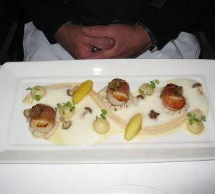 Vorspeise Greenhouse-Restaurant Hotel The Cellars-Hohenort