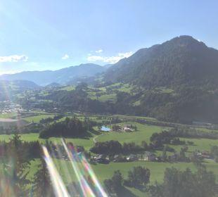 Ausblick vom Balkon Alpines Lifestyle Hotel Tannenhof