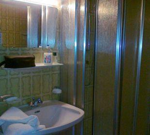 Rest vom Badezimmer Hotel Klausenhof