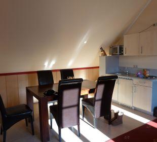 Küchenzeile mit Essbereich Apart Hotel Wernigerode