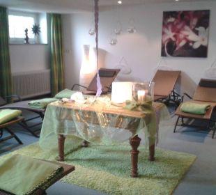Ruhebereich Romantik Hotel Sonne