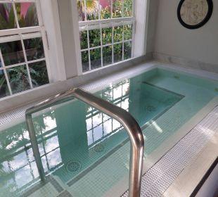 Whirlpool im Badehaus Hotel Hacienda de Abajo