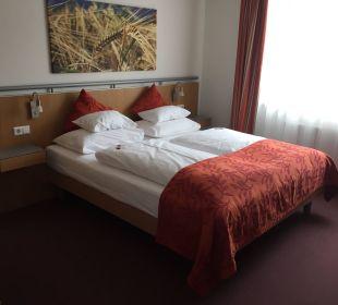 Zimmer mit Doppelbett Hotel Sole-Felsen-Bad