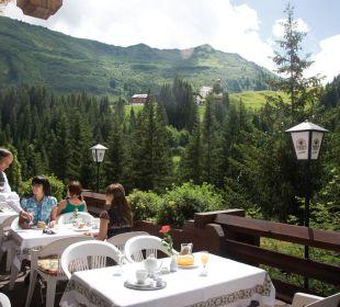 Hotelterrasse Berghotel Madlener