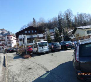 Parkplatz Family Hotel Schloss Rosenegg