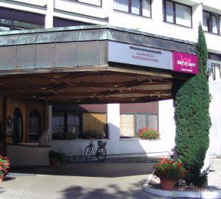 Eingang Mercure Hotel Garmisch Partenkirchen