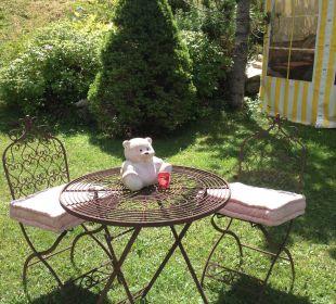 Im Garten gibt es immer ein stilles Eckchen Ferienhaus Kirchplatzl