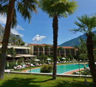 Giardino interno Park Hotel Imperial Centro Tao - Natural Medical Spa