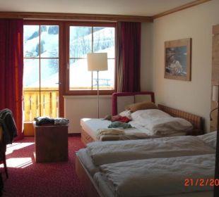 Blickrichtung Fenster (Balkon)  Hotel Roslehen