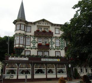 Das Hotel von Aussen Hotel Victoria