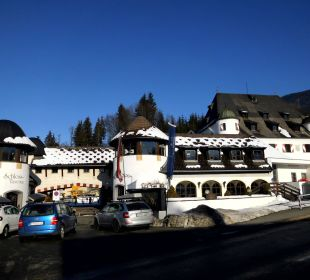 Hotel im Febr. 2016 Family Hotel Schloss Rosenegg