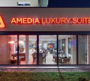 Außenansicht Amedia Luxury Suites Graz