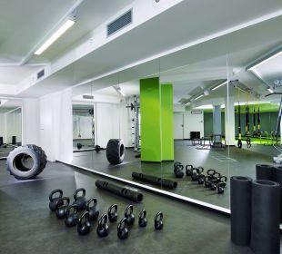 Functional Fitness Hall DolceVita Hotel Preidlhof