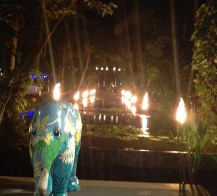Gartenanlage Anantara Bophut Koh Samui Resort