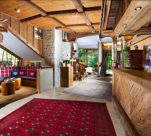 Lobby Alm- & Wellnesshotel Alpenhof