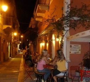 Nafplio by night Hotel Omorfi Poli