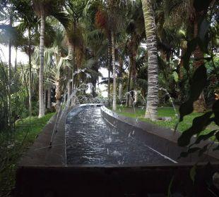 Ein kleiner Springbrunnen Hotel Hacienda San Jorge