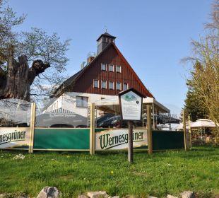 Biergarten  Hotel Bühlhaus