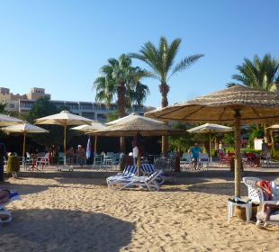 Blick auf die Beach Bar
