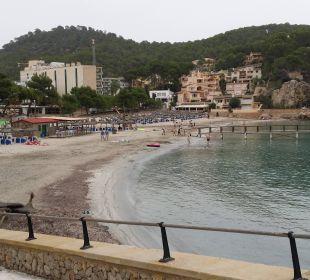 Blick auf kleine Badebucht neben Hotel Olimarotel Gran Camp de Mar