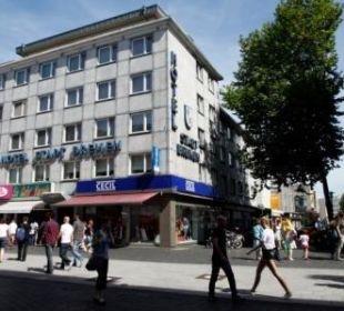Aussenansicht Comfort Garni Hotel