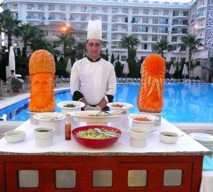 Kürbismotive Hotel Narcia Resort Side