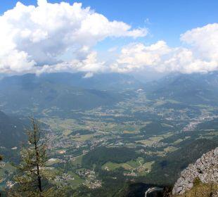 Ausblick vom Grünstein Alm- & Wellnesshotel Alpenhof