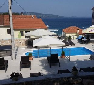 Dach-Pool Pension Villa Baroni