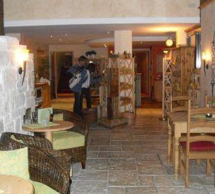 Eingangsbereich Appartementhotel Allgäuer Kräuteralm