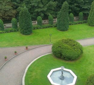 Innenhof Schlosshotel Ralswiek