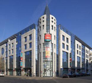 Hotelansicht Strassenseite Hotel Ibis Koblenz City