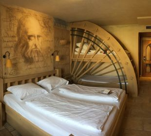 Super schönes Zimmer wie in jedem der Hotels Hotel Colosseo Europa-Park