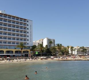 Außenansicht von einem Boot Hotel Ibiza Playa