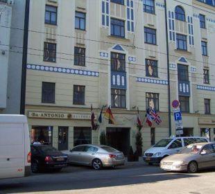 Domina Inn von außen PK Riga Hotel