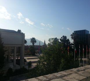 Ausblick vom Balkon Hotel Avala