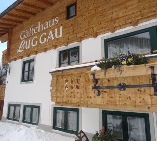 Außenansicht Gästehaus Luggau