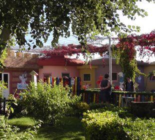 Blick auf den Kinder Club 12Fly Belek Beach Resort Hotel