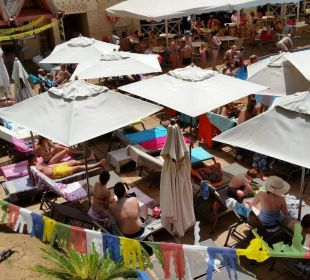 Zu wenig Platz für sehr viele Gäste IFA Catarina Hotel
