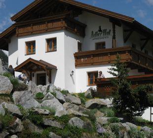 Außenansicht Ferienhaus Adlerhof