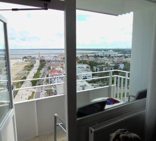 Balkon 16. Etage Hotel Neptun