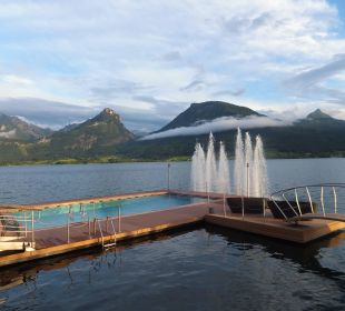 Pool im Wolfgangsee Romantik Hotel Im Weissen Rössl