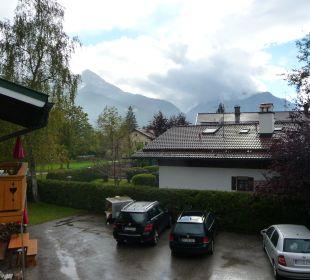 Ausblick auf den Watzmann Gästehaus Watzmannblick