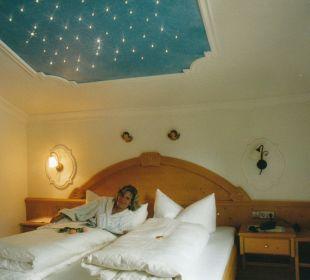 Komfortzimmer mit Sternenhimmel Hotel Garni Krößbacherhof