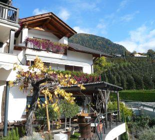 Hotel vom Terrassencafe aus Genusshotel Der Weinmesser